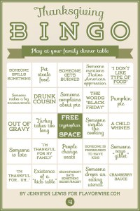 Thanksgiving Bingo 4